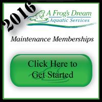 Pond Maintenance Memberships